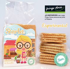"""Starlet"" the best waffers.  by minidesigners studio"