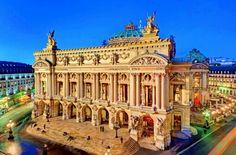 Opéra Garnier. Paris n'est plus un secret pour nous.