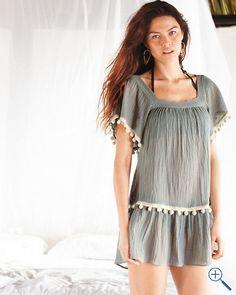 Eberjey Zia Gauze Cover-Up Dress: Super cute but not $130 cute
