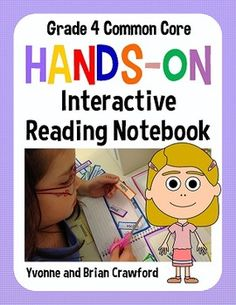 Interactive Reading Notebook for Fourth Grade - 209 pages $
