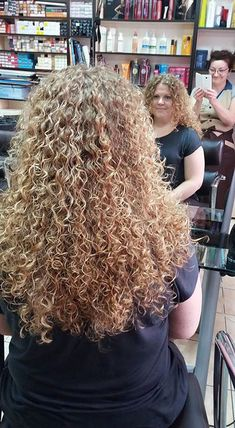 30 Curly Perm Hairstyles for Long Hair Long Perm, Spiral Perm Long Hair, Curls For Long Hair, Spiral Curls, Tight Curls, Curly Hair Tips, Long Curly Hair, Big Hair, Curly Hair Styles