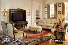 Imperial Court Living Room Set - Aico Furniture by Aico Furniture. $3978.00. Imperial Court Living Room Set by Aico Furniture