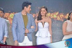 This is the handsome Xian Lim and the pretty Kim Chiu smiling for the camera after walking on the ASAP stage during the Parade of Star Magic Talents during Star Magic Day and Star Magic 23rd Anniversary on ASAP at ABS-CBN Studio 10 last July 26, 2015. Indeed, KimXi is another of my favourite Kapamilya love teams and they're amazing Star Magic talents. #XianLim #KimChiu #ChinitaPrincess #KimXi #StarMagic23 #starmagic23rdanniversary #ASAP20