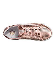 Apple of Eden Natalia Sneakers in einem unverwechselbaren ledernden Metallic-Design.