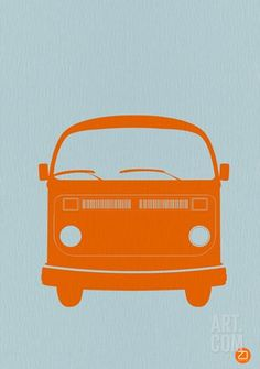 Orange VW Bus - Cool VW Stuff - 1
