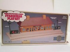 Ffarquhar Playset Thomas the Tank Train ERTL Rail Series Shining Time Station