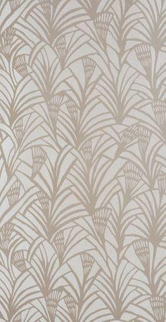 Wallpaper Charlottes Fan   By Helene Blanche