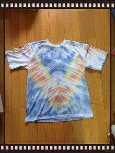 My 2nd Tie-Dye (made at NK school)