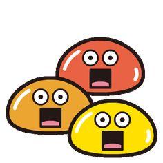 Shocked Emoji, Smile Gif, Cute Good Morning, Emoji Stickers, Android, Kawaii, Animation, Gifs, Fictional Characters