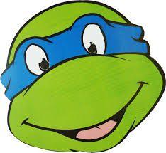Images for raphael ninja turtle mask turtles for Tortoise mask template