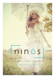 Ninòs, not ordinary clothes Concept, interior Design and logo by Nicola Barutto