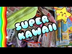 Uno scatolone pieno di cose KAWAII - YouTube