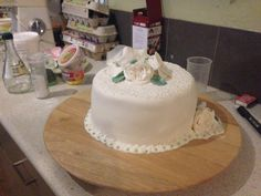 My first grown up cake.