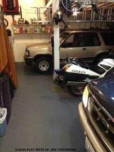 Heavy Duty Garage Floor Mats. Rubber Garage Flooring