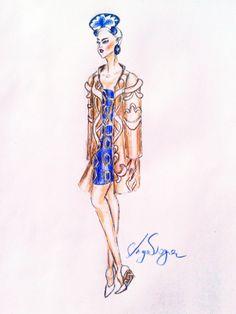 sketches by Anya  Voge