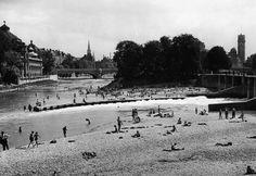 Isar near Müllerschem Volksbad, 1938