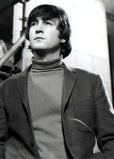 John Lennon (Source- http://johnandpaulinlove.tumblr.com/post/45793929932)