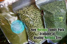 BULK 1000ct Moringa Family Pack Leaf Capsules Large 700 mg (Organic) (SALE)