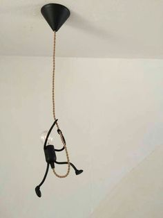 nice DIY Funny Stick Figure Hanging Light: great fir any kids room, industrial decor or someone with a sense of humor. Love the ide. funny DIY Funny Stick Figure Hanging Light: great fir any kids room, industrial decor or someon…