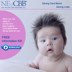 Free Cord Blood Information Packet from New England Cord Blood Bank #cordbloodbanking