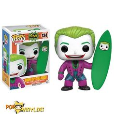 Surf's Up for Batman Pop! Vinyls http://popvinyl.net/news/surfs-batman-pop-vinyls/  #batman #surfsup