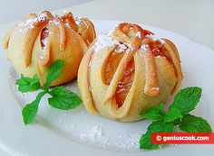 Baked Apples in Puff Pastry