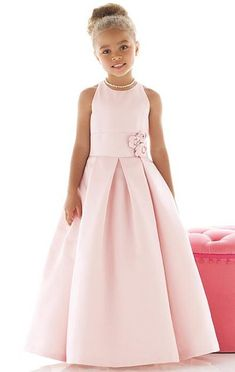 Dessy Flower Girls Dress FL4022 at frenchnovelty.com