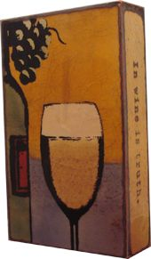 "Houston Llew  ""In vino veritas. In wine is truth."" -Plato"