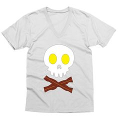 Death by Breakfast – My Main Tees For my last meal I would like ALL the eggs… Dressed To The Nines, Graphic Shirts, Shirt Designs, Death, Eggs, Breakfast, How To Wear, Food, Women