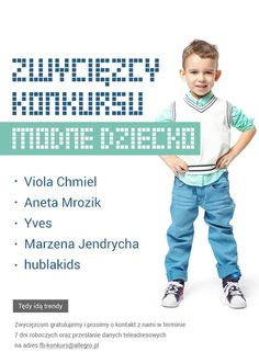 Uwaga! Znamy już zwycięzców Konkursu Modne Dziecko! :)