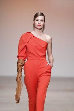 #ModaLisboa #fashion Nuno Baltazar Nuno, Portuguese, Fashion Designers, Jumpsuit, Dresses, Lisbon, Silhouette, Women's Work Fashion, Women