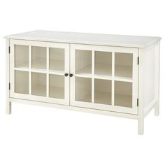 """Threshold™ Windham TV Stands $230 Maximum TV Dimensions: 42 """" Maximum Weight Capacity: 100.0 Lb. Care and Cleaning: Wipe Clean With a Dry Cloth Dimensions: 24.0 """" H x 44.0 """" W x 18.9 """" D"""