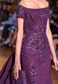 Zuhair Murad at Couture Fall 2016 - Details Runway Photos Zuhair Murad, Only Fashion, High Fashion, Women's Fashion, Couture Fashion, Runway Fashion, Fashion Outfits, Fashion Details, Fashion Design