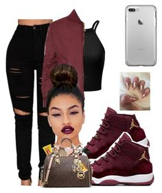 """Untitled #575"" by adoreme02 ❤ liked on Polyvore featuring WearAll and Lime Crime"
