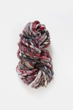 Wanderlust Yarn by Knit Collage - Super Bulky yarn for hand knitting - all hand carded and handspun wool. Color Spirit Animal