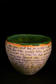 Tango Pottery, id love to do a song on a vase or something what a Great idea cant believe i never thought of it!