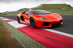 The new Lamborghini Aventador. 690 hp, and 0-60 in 2.9 seconds. And of course, it's gorgeous.