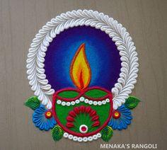 Simple Rangoli Border Designs, Indian Rangoli Designs, Rangoli Designs Latest, Rangoli Designs Flower, Free Hand Rangoli Design, Colorful Rangoli Designs, Rangoli Designs Images, Rangoli Colours, Rangoli Patterns