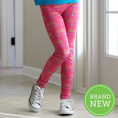 Girls Arrow NAME Hot Pink Arden Leggings – Lolly Wolly Doodle
