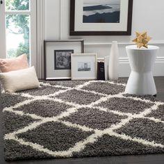 Shag Collection SGD257A Color: Dark Grey/ivory  #rug #carpet #safavieh #safaviehrug  #trendy #homedecor #homeaccents #shophome #livingroom #diningroom #bedroom #kitchen #office #rugsforyourhome #shag #shagrug #shagcarpet #softshagrugs #shagrugdesign #stunningshagrugs #safaviehshag #safaviehshagrugs #trendyrugs #bestrugs #bestrugprices