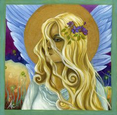 """Demeter"" Earth Angels Art. Art and Illustrations by Amanda Clark: May 2010"
