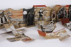 Pop-up Book by Elsa Mroziewicz, via Behance