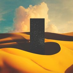 Monolith I Canvas Print by lacabezaenlasnubes - MEDIUM My Canvas, Canvas Artwork, Outer Space Wallpaper, Framed Art Prints, Canvas Prints, Yellow Art, Music Artwork, After Life, Sky Aesthetic