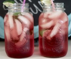 Cherry. Limeade. For every 8 ounces of 7-up add 2 Tablespoons of grenadine and limes to taste.