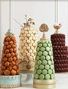 Image result for how to make fake croquembouche