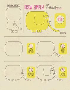 http://stevemack.com/wp-content/uploads/2012/09/How-to-Draw-An-Elephant-by-Steve-Mack.jpg