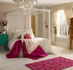 Bring the romantic touches to your bedroom by Dulux Paints Pink Bedroom Design, Bedroom Red, Dream Bedroom, Master Bedroom, Bedroom Decor, Bedroom Color Schemes, Bedroom Colors, Brown Furniture, Home Furniture