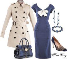 """Beautiful Blue Dress, Manolo shoes, and Jimmy Choo Bag"" by keri-cruz on Polyvore"