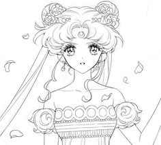 Unique Sailor Moon Princess Serenity Coloring Pages Gallery – Best Coloring Collection Sailor Moon Manga, Sailor Moons, Sailor Jupiter, Arte Sailor Moon, Sailor Moon Fan Art, Sailor Moon Coloring Pages, Princess Coloring Pages, Colouring Pages, Coloring Books
