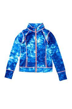 Z By Zella   Printed Performance Jacket (Little Girls & Big Girls)   Nordstrom Rack